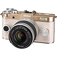 Pentax Q-S1 02 12.4MP Mirrorless Digital Camera with 3-Inch LCD (Champagne Gold) Advantages Review Image