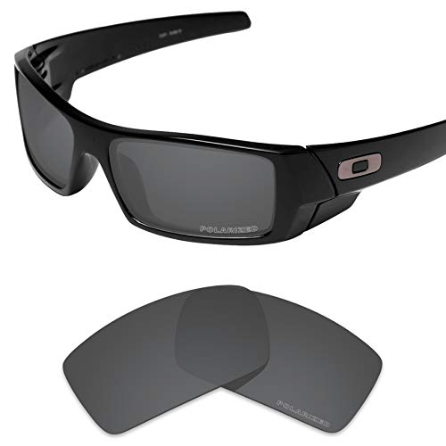 Tintart Performance Lenses Compatible with Oakley Gascan Polarized Etched-Carbon Black