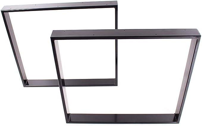 Tischgestell schwarz TR80s-900 breit Tischuntergestell Tischkufe Kufengestell