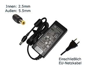 """Fuente de alimentación para Asus FPCAC54AP FSP120-AAC G2SV G50V G50VT cargador LCDs, cargador, adaptador de CA, corriente eléctrica (fuente, compatible-{12} cable) - europeo """"de alimentación"""""""