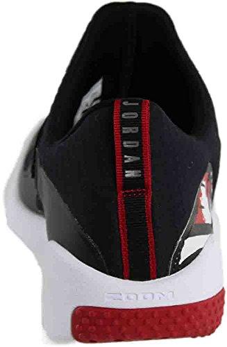 Nike Mens Trainer Essential Textile Trainers Black/Black-white-gym Red