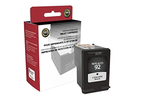 Recreated Cartridges HP C9362WN | Black Inkjet Cartridge 220 Pages for DeskJet 5440, 5440v, 5440xi; Officejet 6310, 6310xi, 6313, 6315; PhotoSmart 785 (Ink Black C9362wn)