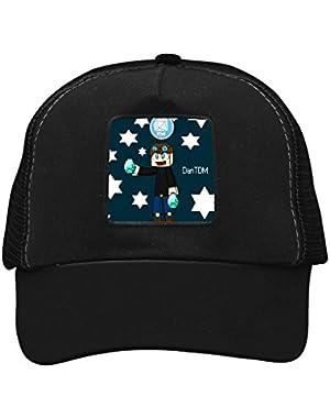 Dan Gem TDM Unisex Trucker Hat Adjustable Mesh Cap