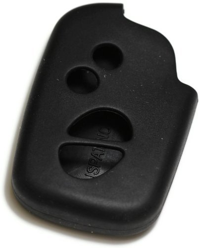 Black Silicone Key Fob Cover Case Smart Remote Pouches Protection Key Chain Fits: Lexus HS250 10-13