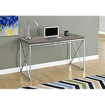 Amazon Com Monarch Specialties Computer Desk Contemporary Home Amp Office Desk Scratch