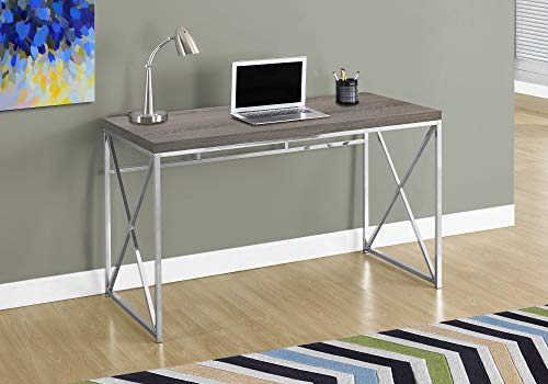 Monarch Specialties Computer Desk - Contemporary Home & Office Desk - Scratch-Resistant - 48