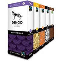 Variety Pack for Nespresso®* - 100 Australian Fairtrade Coffee Pods by Dingo Republic