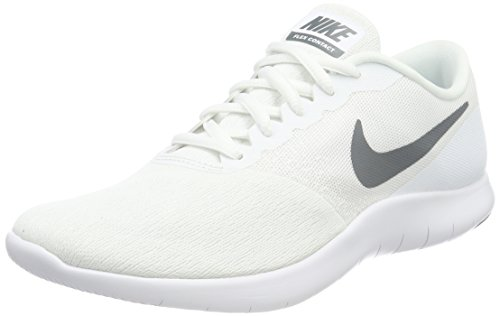 Cool Herren Grey White Flex Contact Sneaker Weiß NIKE nOC7Ywq7