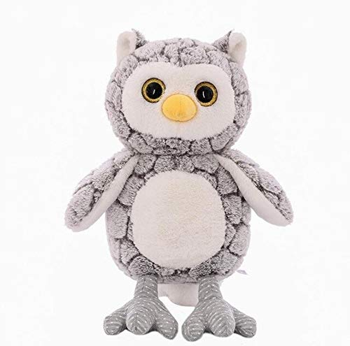 MANGMOC 50Cm Cute Owl Plush Toy Cartoon Big Eyes Owl Plush Animals Soft Stuffed Doll Couple Owl Girl Birthday Holiday Must Haves 5 Year Old Girl Gifts Girls Favourite Characters by MANGMOC