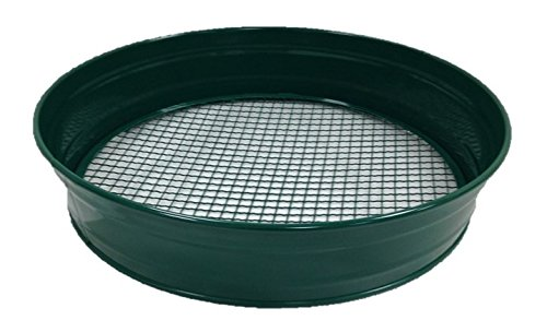 Greenkey 755 8 mm Maschen Gartensieb aus Metall, Grün