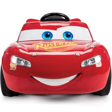 Huffy Pixar Cars 3 Lightning McQueen 6V Battery-Powered Ride (Disney Pixar Bolt)