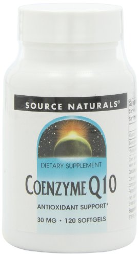 Source Naturals Coenzyme Q10, 30 mg, 120 gélules
