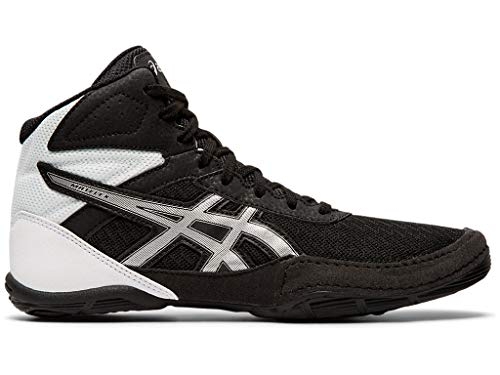 ASICS Kid's Matflex 6 GS Wrestling Shoes, 3M, Black/Silver
