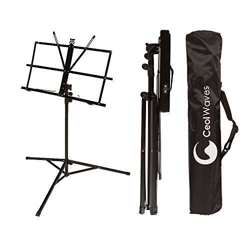 Music Stand for Sheet Music Portable Folding Music Stand Carrying