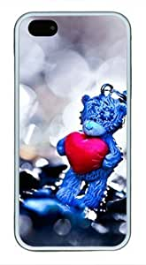 Iphone 6 4.7 6 4.7 TPU Supple Shell Case Bear Heart White Skin by Sallylotus Kimberly Kurzendoerfer