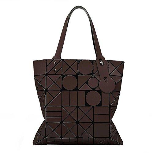 à Rubik's Géométrie Sac à Cube Bandoulière Brown Pliage Laser Mode Pour Main Sac Femme Printemps Et Sac Lingge Été wrRxqXa0R