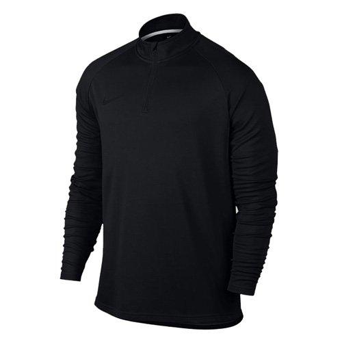 NIKE Mens Dry Academy Drill Soccer Top 1/4 Zip Jacket (L, Black/Black)