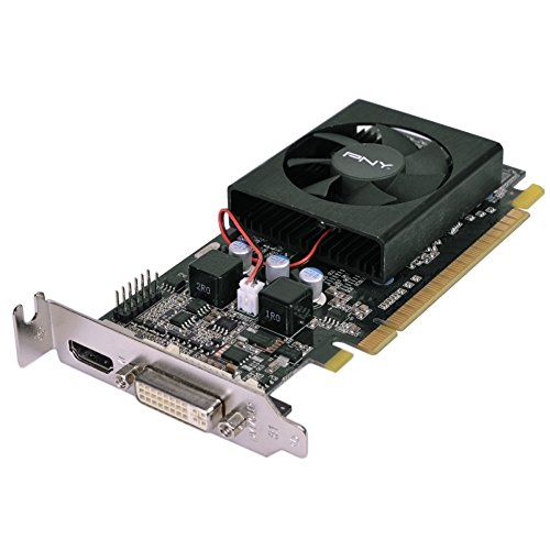 - PNY GeForce GT 610 1GB DDR3 PCI Express (PCIe) DVI Low Profile Video Card w/HDMI