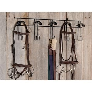 Half Moon Bridle And Tack Hanger by Apple Picker