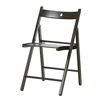 Ikea Terje - Silla Plegable, Color Negro: Amazon.es: Hogar