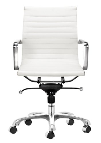 Charmant Zuo Obsolete Modern Lider Office Chair, White