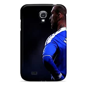 New Premium Flip Case Cover Chelsea Fc Football Stars Raul Skin Case For Galaxy S4 by supermalls