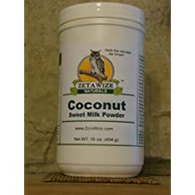 Coconut Sweet Milk Powder *Delicious * Supplement or Healthy Recipe Enhancer * Kosher * Gluten Free * Lacto - Vegetarian Grade * Super-Food * 1 LB Size