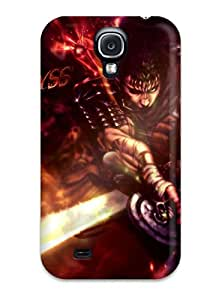 New Style High Grade Flexible Tpu Case For Galaxy S4 - Berserk 3157936K41646933