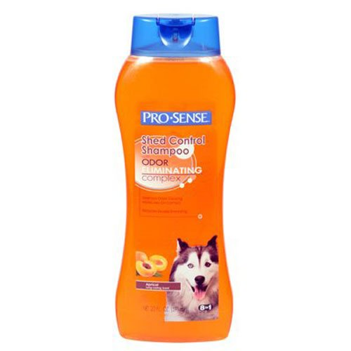 Pro-Sense Shed Control Shampoo, Apricot Scent, 20-Ounce (P-82725)