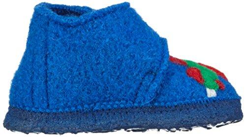 Nanga Baby Jungen looping Krabbel-& Hausschuhe Blau (mittelblau / 35)