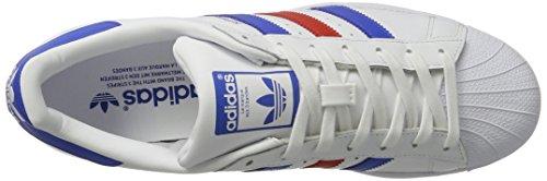 para Red Ftwwht Zapatillas Hombre Superstar Blue Blanco Adidas 0qEgBwxU