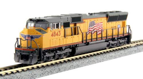 Kato N Scale SD70M Locomotive UP #4843 DCC Equipped for sale  Delivered anywhere in USA