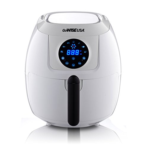 GoWISE USA 5.8-Quart Programmable 7-in-1 Air Fryer, GW22635