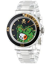 EOS New York tokidoki Unisex TDW358SCLR Bastardino Plastic Clear Watch