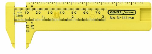 General Tools 141ME Pocket Caliper (Caliper Rule Tool)