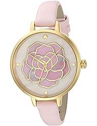 kate spade new york Womens KSW1257 Metro Analog Display Japanese Quartz Pink Watch