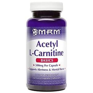 Acetyl L Carnitine 500mg Per Capsule