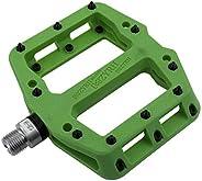 """MZYRH Mountain Bike Pedal 9/16"""" 3 Sealed Bearings Lightweight Non-Slip Nylon Fiber Bicycle Platform Pedal"""