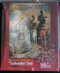 Salvador Dali Art Puzzle New Hallucinogenic Toreador (1969-70) 500 Pieces 18x24