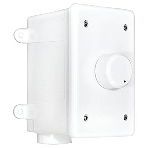 OVC305 Resistor Based 300W Rotary Knob Style Outdoor Weather Resistant Housing Volume Control - OSD Audio - (White) (Control Volume Weather Outdoor Resistant)