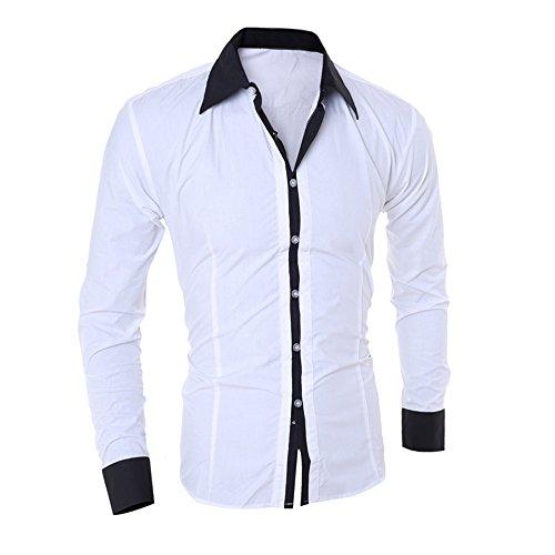 Man Nuovi Sport Poliestere Ihengh 2019 Blouse Moda Maniche Bianco Shirt Felpa Uomo Lunga Lunghe Printing Fashion Manica Top Cotone Casual Primavera Girocollo xx87f4