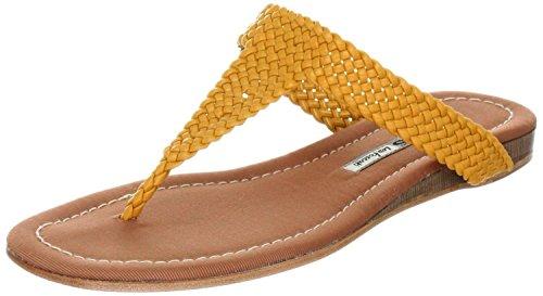 MANAS positano - Sandalias de vestir de Material Sintético para mujer Amarillo Limone Amarillo - Limone