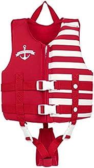 Gogokids Kids Swim Float Vest- Children Swim Jacket Neoprene Learn-to-Swim Floatation Vest UPF 50+ for Toddler