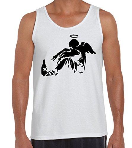 Tribal T-Shirts Banksy Fallen Angel Men