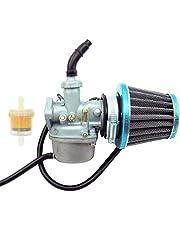 AUTOKAY Carburetor for 50CC 90CC 110CC ATV Go-Kart Carb Roketa SUNL with Air Fuel Filter