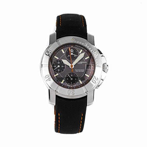 Baume-Mercier-Capeland-swiss-automatic-mens-Watch-MOA08329-Certified-Pre-owned