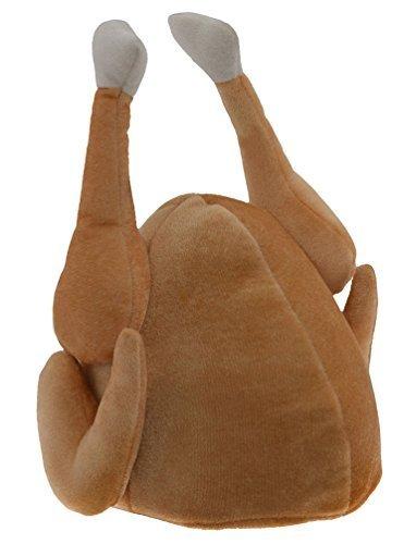 Kangaroo Plush Thanksgiving Day Roasted Turkey Hat]()