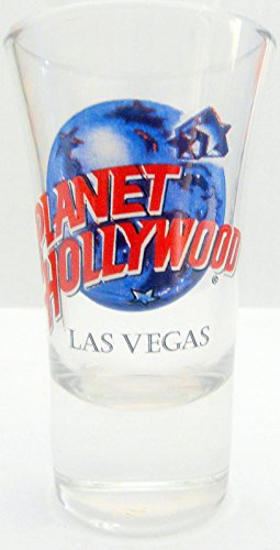 Las Vegas Nevada Planet Hollywood City Cordial Shot - Stores Planet Las Vegas Hollywood