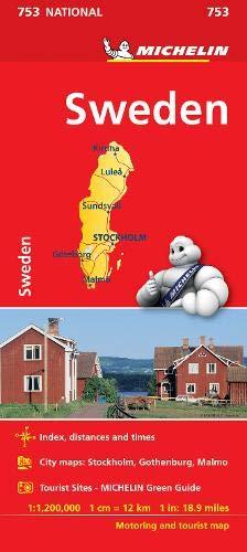 Mapa National Suecia (Mapas National Michelin): Amazon.es: Michelin: Libros en idiomas extranjeros