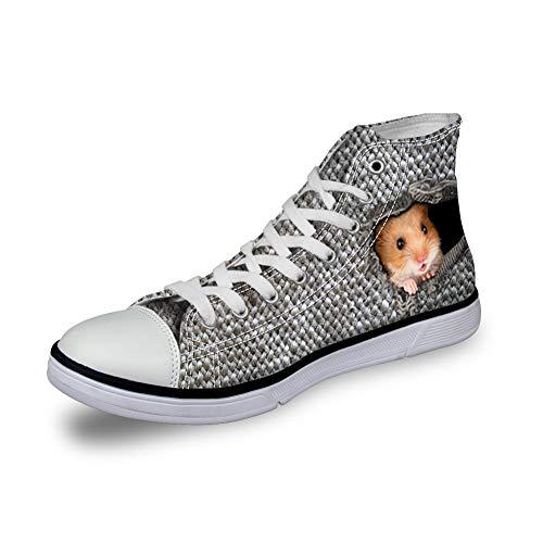 Nopersonality , Baskets Mode Femme Hamster & Grey